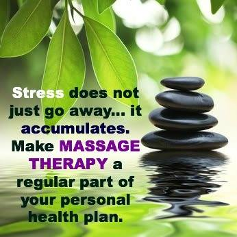 make massage a part of your health plan